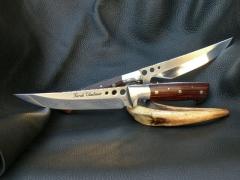 Egyedi, nagy méretű kések gravírozással